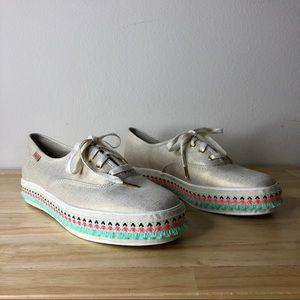 Keds Shoes - Keds Triple Hula Foxing Platform Hula Sneakers